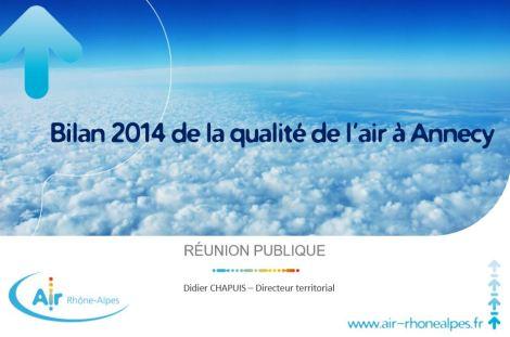 Annecy Qualité de l'air et santé Air Rhone Alpes