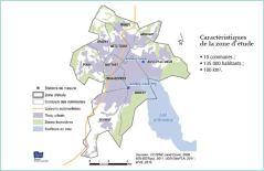 Etude INVS Annecy Grenelle carte du bassin annécien