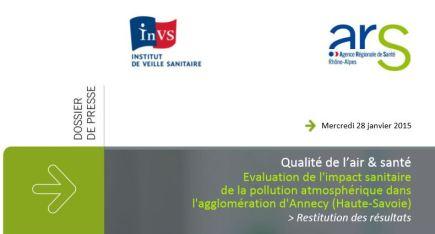 InVs et ARS qualité de l'air et santé