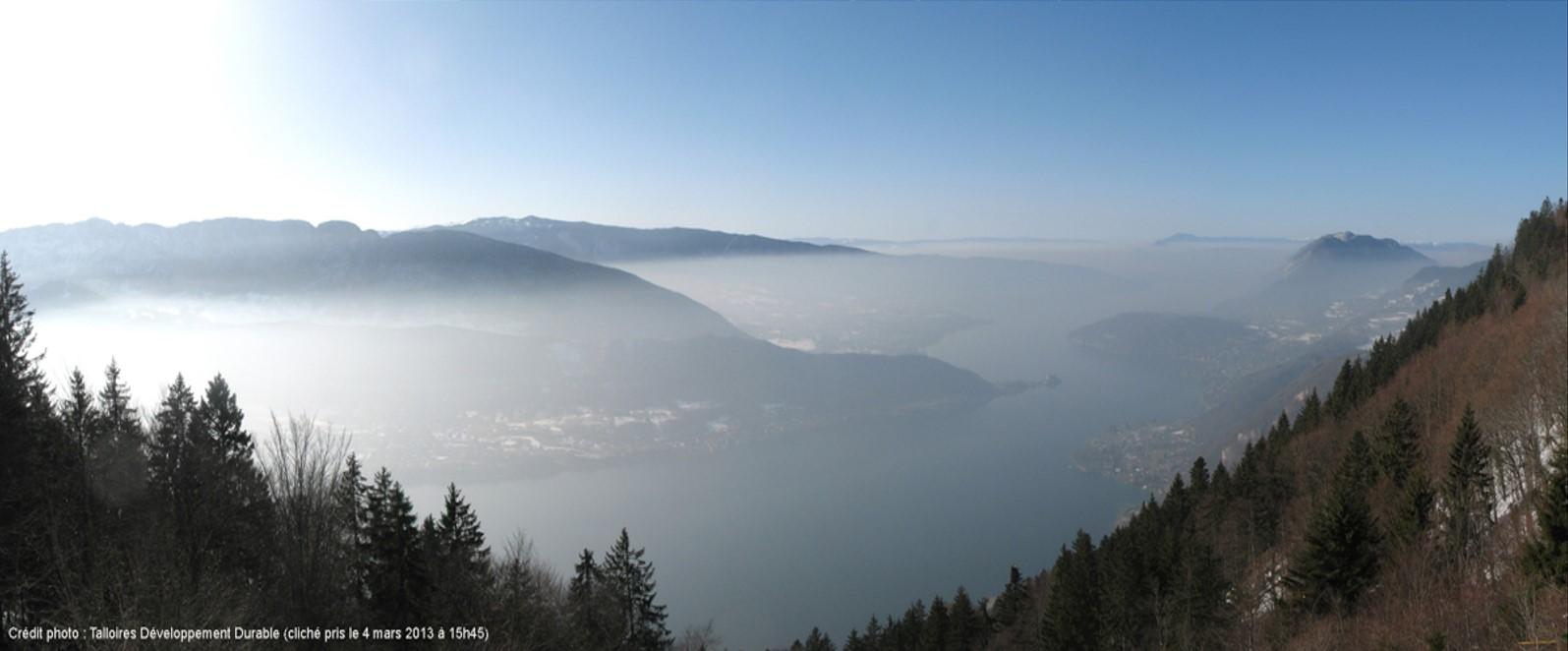 Lac Pollution Talloire développement durable