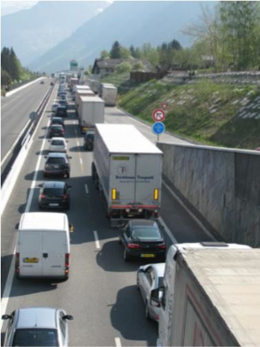 ATMB embouteillage
